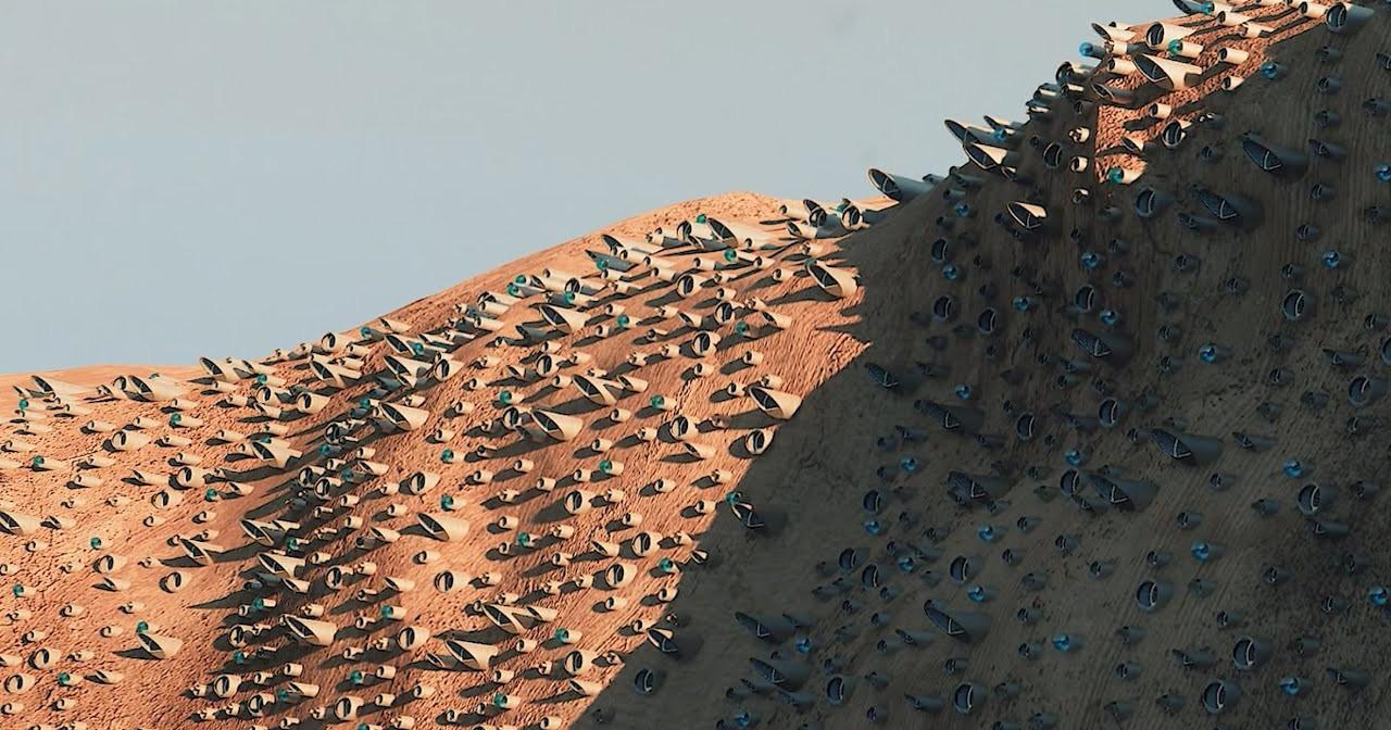 Miasto na Marsie, które pomieści 250 tys. osób. Zapraszamy na wycieczkę do metropolii Nüwa - Papaya.Rocks